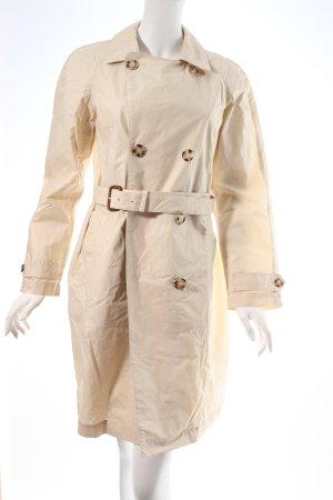 Prada Trenchcoat creme-beige klassischer Stil