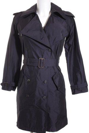 Prada Trenchcoat dunkelblau klassischer Stil