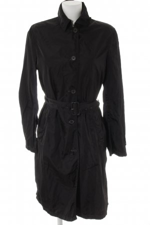 Prada Trenchcoat schwarz Business-Look