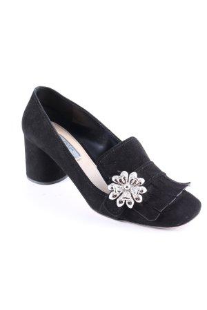 Prada Loafers zwart elegant