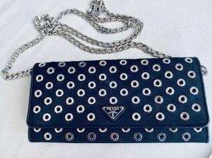 Prada Umhängetasche in schwarz 1MT290 Crossbody Bag
