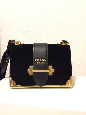Prada Handbag black-gold-colored