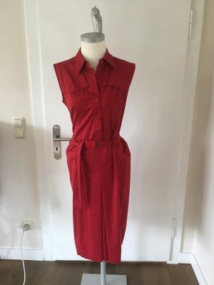 Prada, Vintage Kleid kirschrot, Gr. It 44, Dt. 38