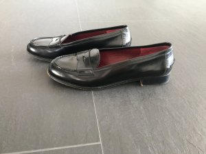 Prada Vintage Loafer Slipper Schwarz