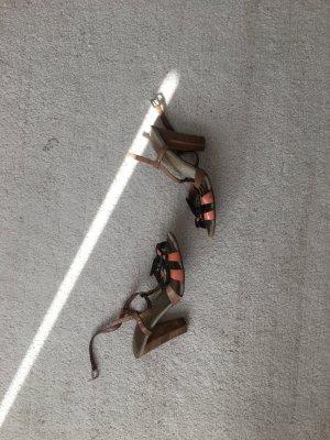 Prada High Heel Sandal multicolored leather