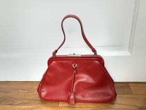 Prada Vintage Tasche rot Leder