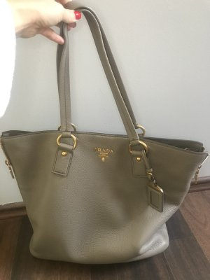 Prada Shopper grey-gold-colored