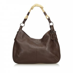 Prada Vitello Daino Hobo Bag