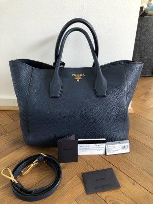 PRADA Vitello Daino Shopping Bag