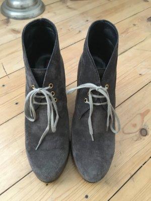 Prada Wildleder Boots, Ankleboots, Stiefeletten