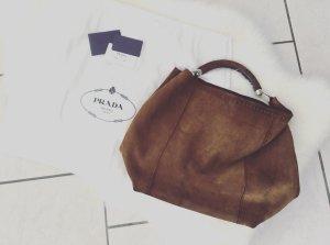 Prada Wildleder Tasche Blogger Hobo Bag Shopper