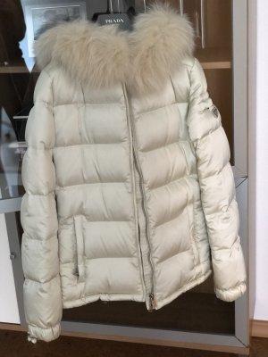 Prada Fur Jacket natural white