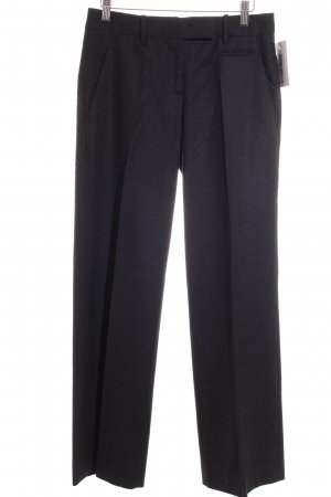 Prada Wollhose anthrazit Business-Look