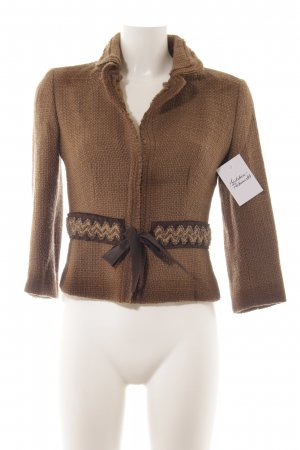 Prada Wool Jacket light brown-brown elegant