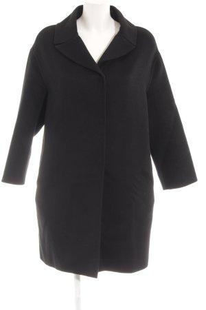 Prada Wollmantel schwarz klassischer Stil