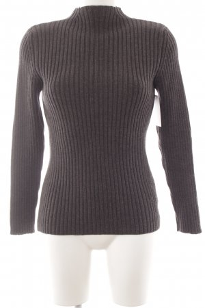 Prada Wool Sweater dark grey casual look