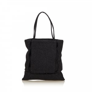Prada Wool Tote Bag