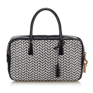 Prada Woven Leather Handbag