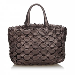 Prada Woven Leather Handbag