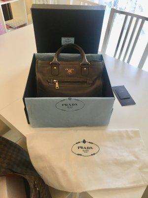 Prada Carry Bag multicolored leather