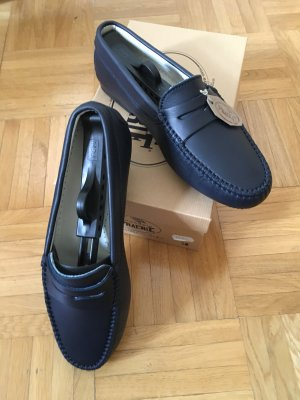 Moccasins dark blue
