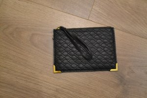H&M Borsa clutch oro-nero