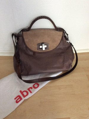 abro Shopper multicolored leather