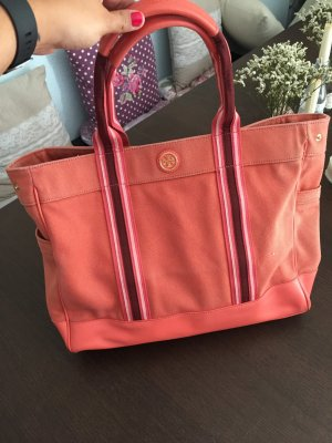 Praktischer Tory Burch Canvas Shopper