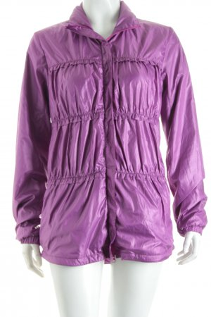 Outdoor Jacket lilac athletic style polyester