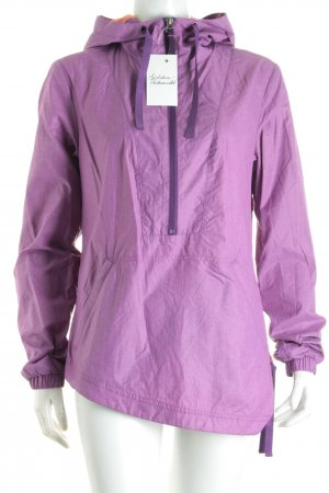Outdoor Jacket lilac athletic style nylon