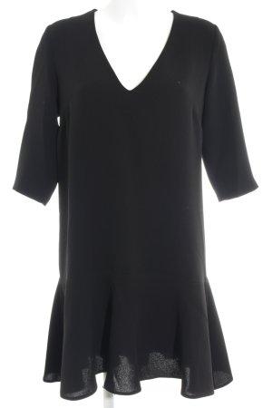 Prego A-Linien Kleid schwarz Elegant