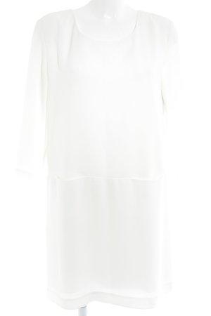 Prego A-Linien Kleid wollweiß Elegant
