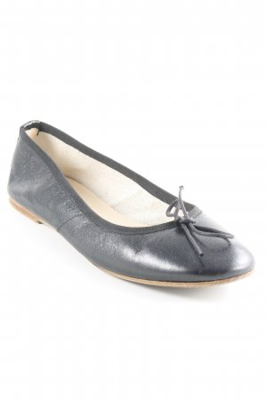 Prego Ballerinas mit Spitze schwarz Casual-Look