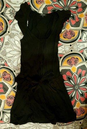 Prego Kleid schwarz süß xs 34 S 36 Schleife -> lässig Herbst
