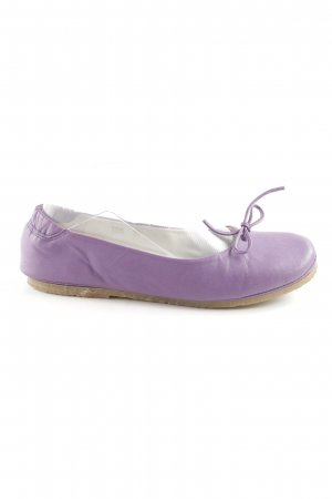 Prego Lackballerinas lila Casual-Look