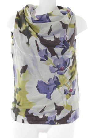 Prego Seidentop florales Muster extravaganter Stil