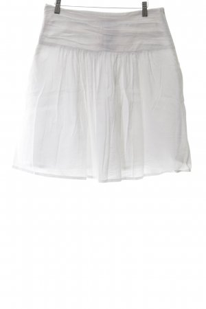 Prego Circle Skirt white casual look