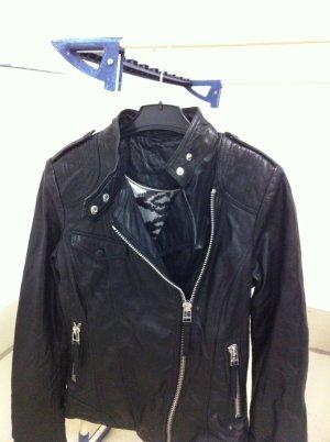 Preis verhandelbar! Neue Vintage Lederjacke (echtes weiches Leder) in used Optik