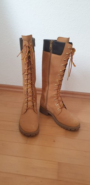 Timberland Lace-up Boots sand brown leather