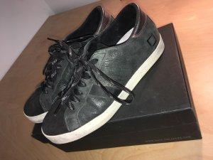 Premium Sneaker von D.A.T.E - Hill Low Stardust - schwarz