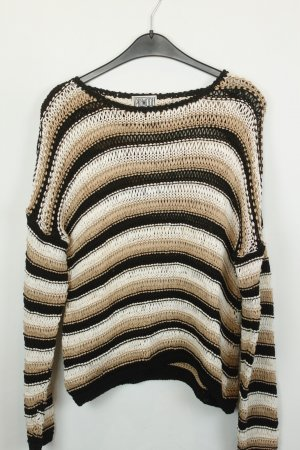 Knitted Sweater multicolored cotton
