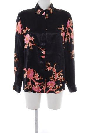 Prestige Elegance Kimono-Bluse Blumenmuster Elegant