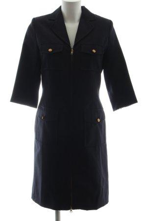 Prestige Elegance Cappotto corto blu stile professionale