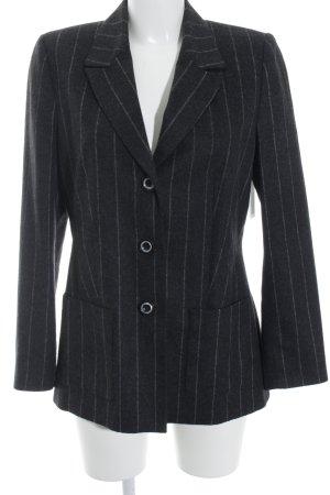 Prestige Elegance Woll-Blazer schwarz Business-Look