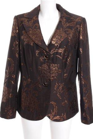 Prestige Long-Blazer braun Casual-Look