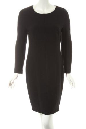 Prestige Wollkleid schwarz Elegant