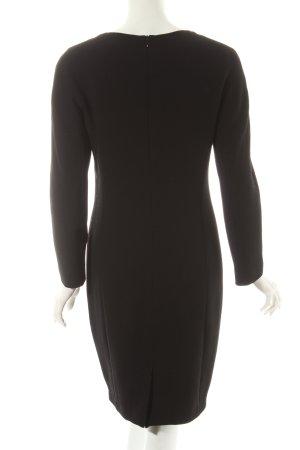 Prestige Wollkleid schwarz Eleganz-Look