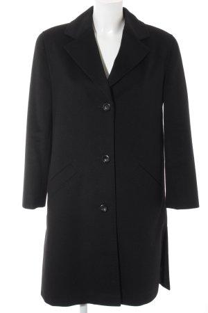Prestige Wollmantel schwarz Elegant