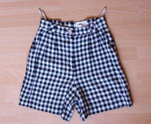 Prêt à P vintage High Waist Shorts kariert, preppy