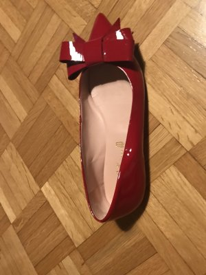 Pretty ballerinas Patent Leather Ballerinas dark red